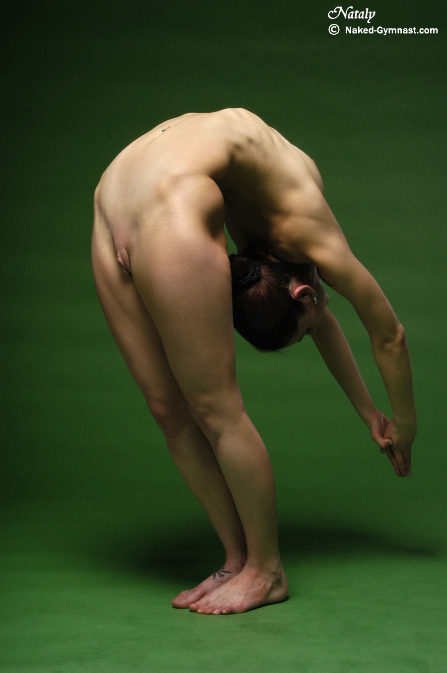 Flexible gymnasts nude