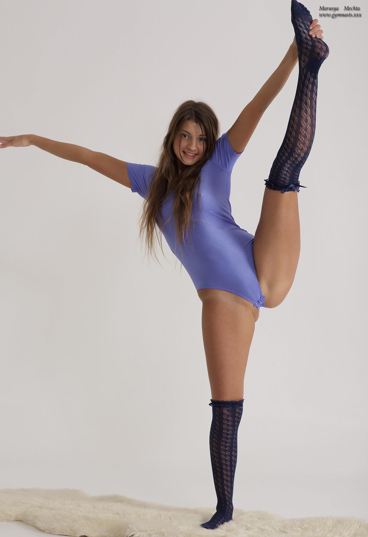 Sexy gymnast